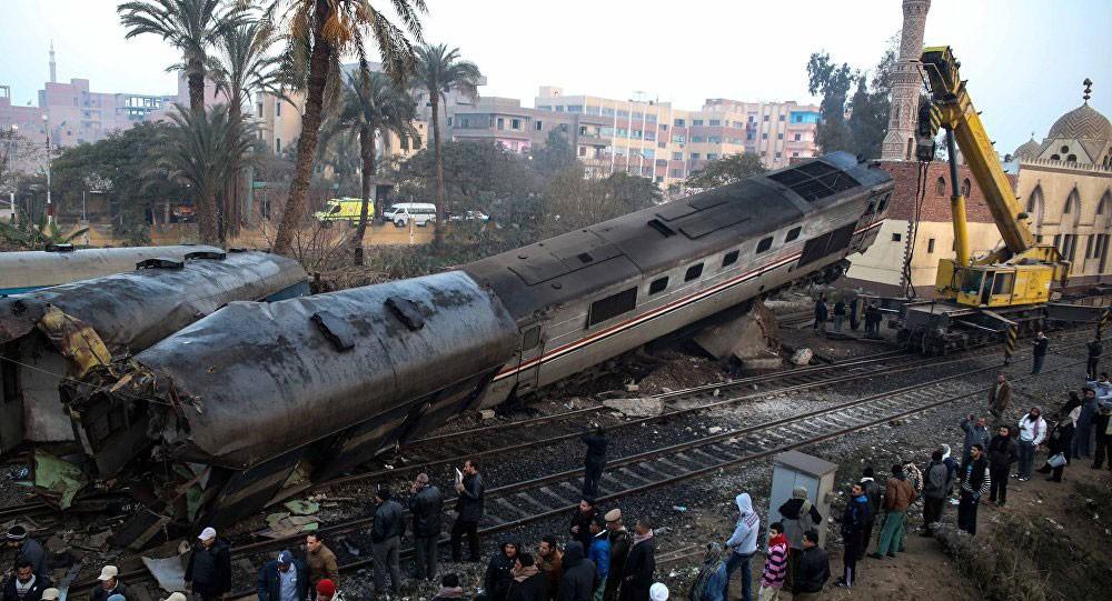 وزارة الصحة المصرية: 6 جرحى بحادث قطار في جنوب البلاد