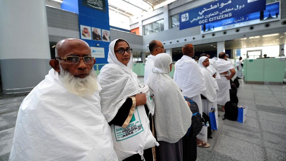 416 ألف حاج وصلوا السعودية جواً عبر مطاري جدة والمدينة