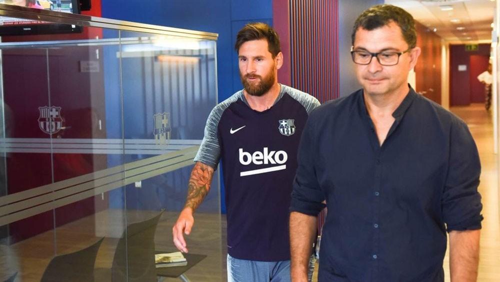 ميسي ينهي إجازته ويعود إلى تدريبات برشلونة