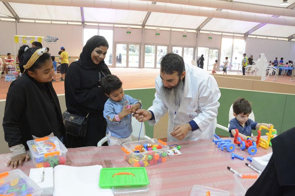 خيمة نخول تنظم لأول مرة ورش عمل لأولياء أمور الأطفال ذوي الاحتياجات الخاصة