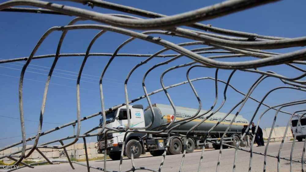 الكيان الإسرائيلي يوقف شحنات الوقود إلى غزة