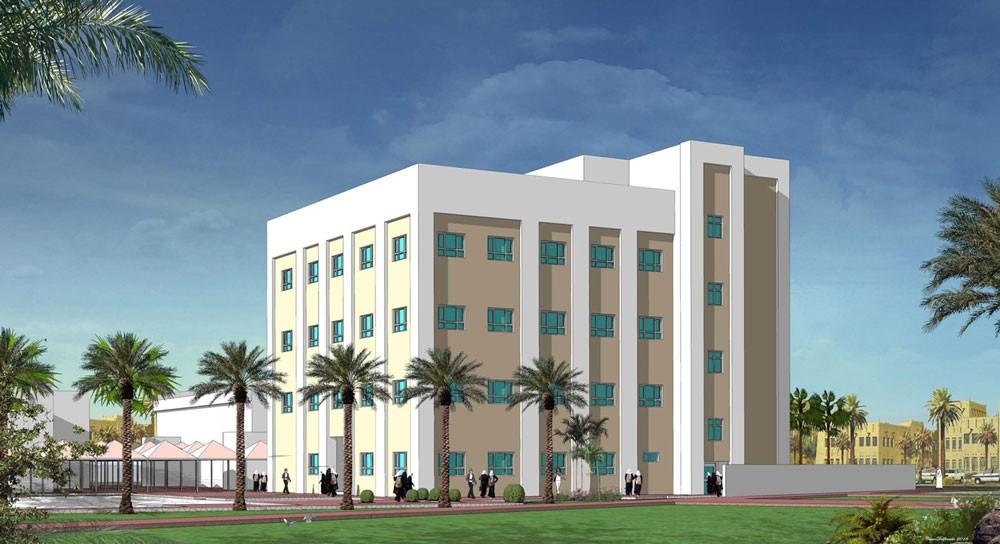 """""""الأشغال"""": البدء بمشروع إنشاء مبنى أكاديمي إضافي بمدرسة المحرق الابتدائية للبنات"""