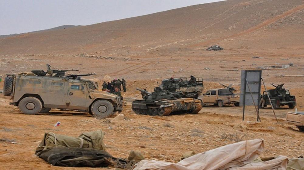 اشتباكات عنيفة بين قوات النظام السوري وداعش في بادية السويداء