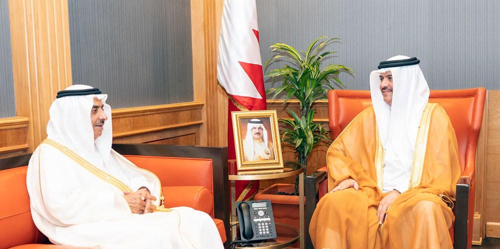 مساعد وزير الخارجية يستقبل سفير السعودية
