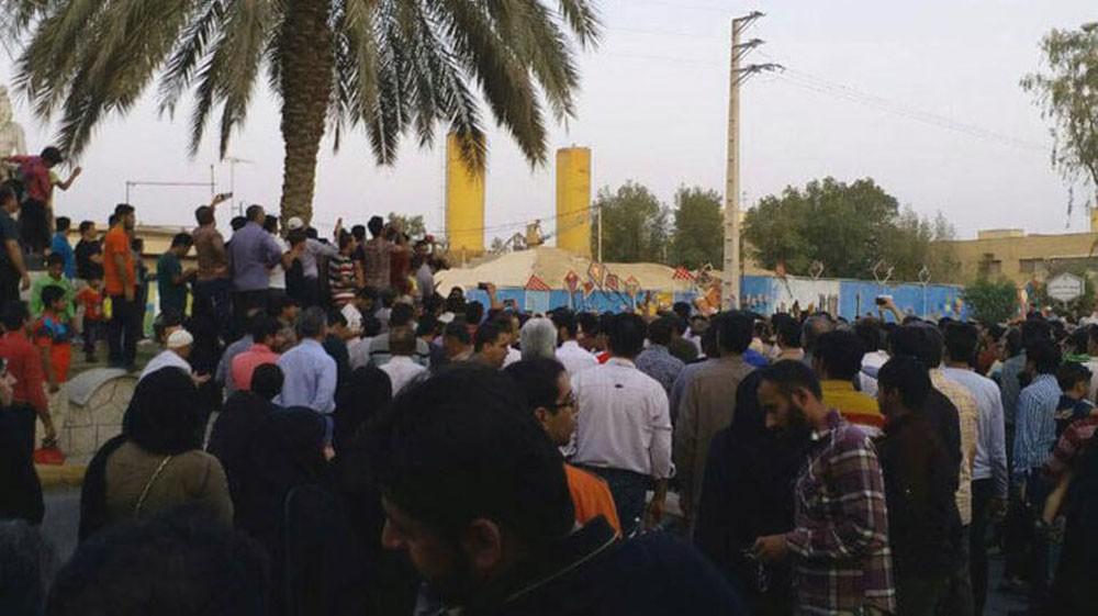 إيران.. 20 احتجاجا كان حول شح المياه فقط