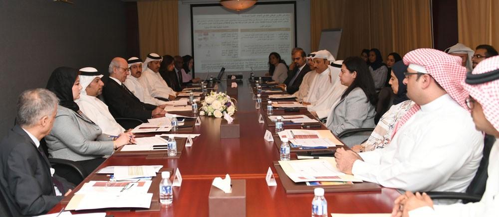 اللجنة الوطنية للمعلومات تستعرض نتائج مشاركة البحرين في منتدى التنمية المستدامة