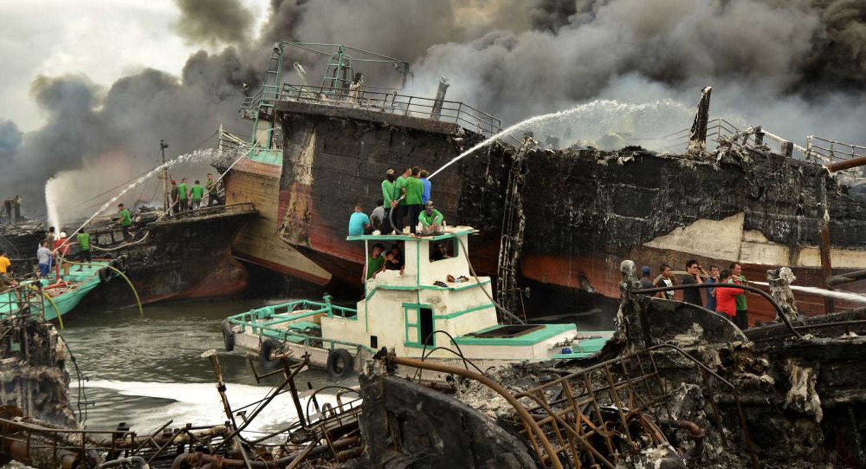 """""""الأرصاد الإندونيسية"""": زلزال بقوة 6.2 درجة يهز جزيرة لومبوك"""