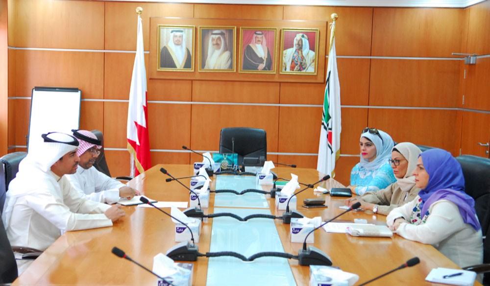 معهد البحرين للتدريب يبحث سبل التعاون مع وزارة الشباب والرياضة