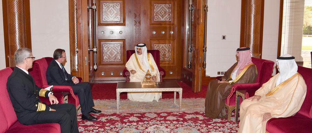 جلالة الملك علاقات تاريخية وشراكة وثيقة تجمع بين البحرين وأمريكا