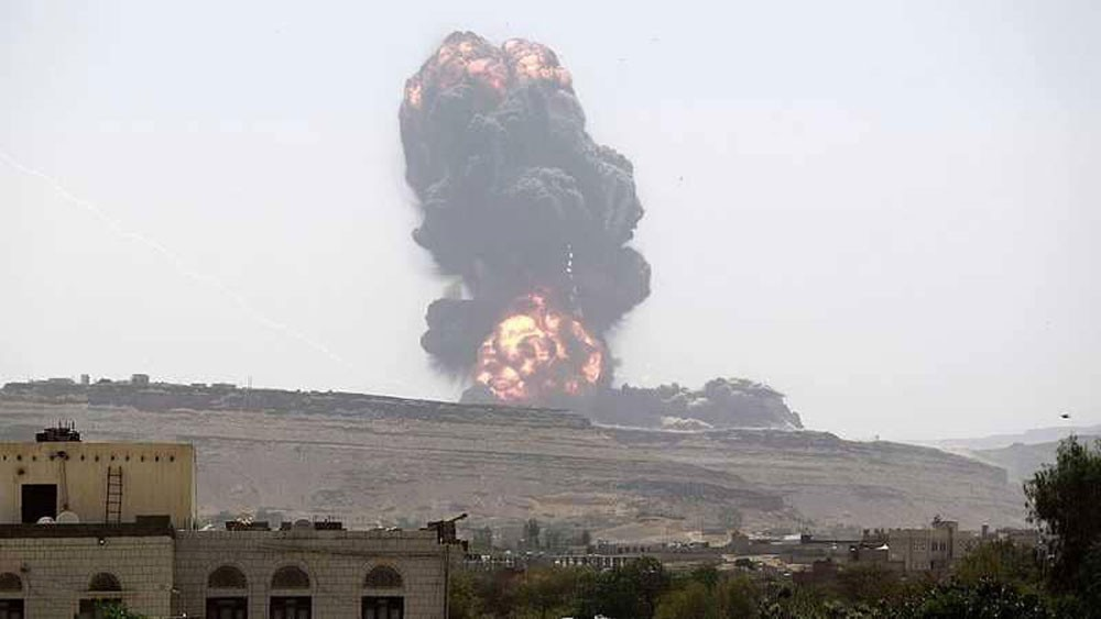 مقاتلات التحالف العربي تقصف مواقع للحوثي في صنعاء