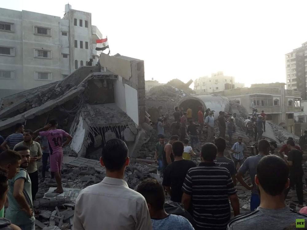 إصابات بتجدد القصف الإسرائيلي على غزة