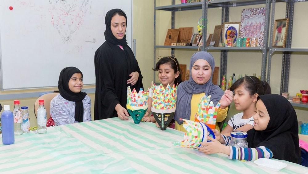 أندية الأطفال والناشئة التابعة لوزارة العمل والتنمية الاجتماعية تواصل برامجها