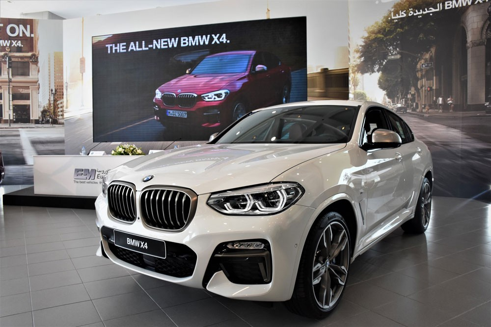 السيارات الأوروبية تستقبل سيارة BMW X4 الجديدة