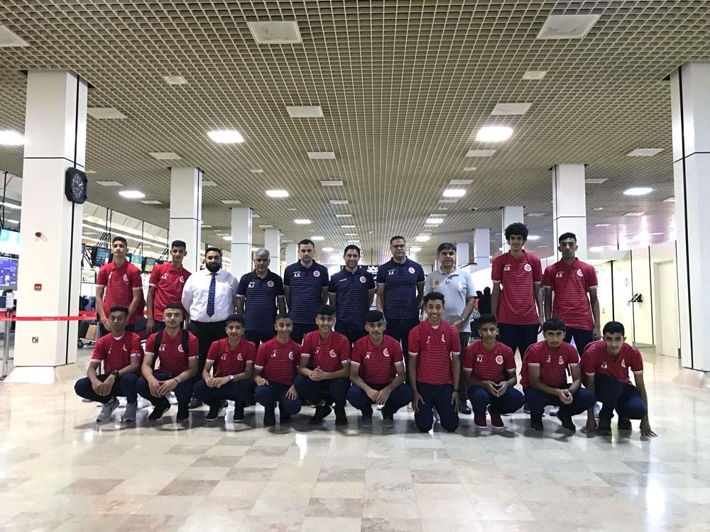 أحمر الناشئين السلاوي يعسكر في تركيا استعدادا للبطولة الخليجية