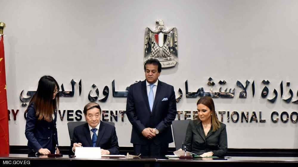 """منحة صينية لمصر لاستكمال """"مصر سات 2"""""""