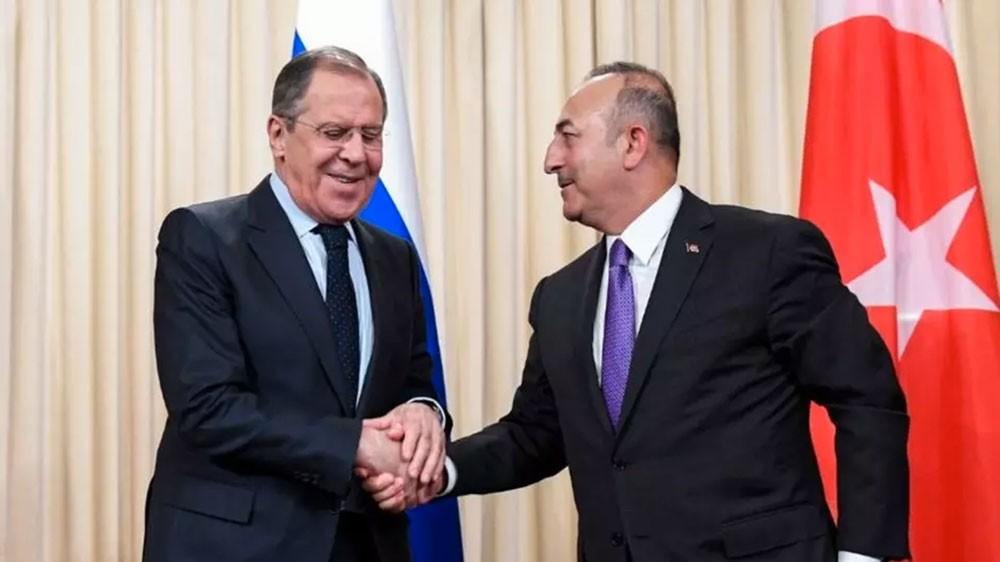 الوضع في إدلب محور لقاء لافروف ونظيره التركي اليوم