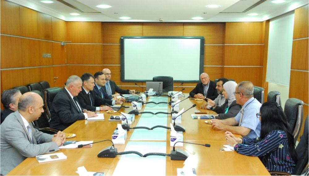 معهد البحرين للتدريب يستقبل وفد معهد بوكس هيل الأسترالي