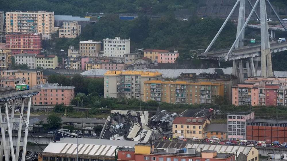 إيطاليا.. ارتفاع عدد قتلى انهيار جسر جنوا إلى 35