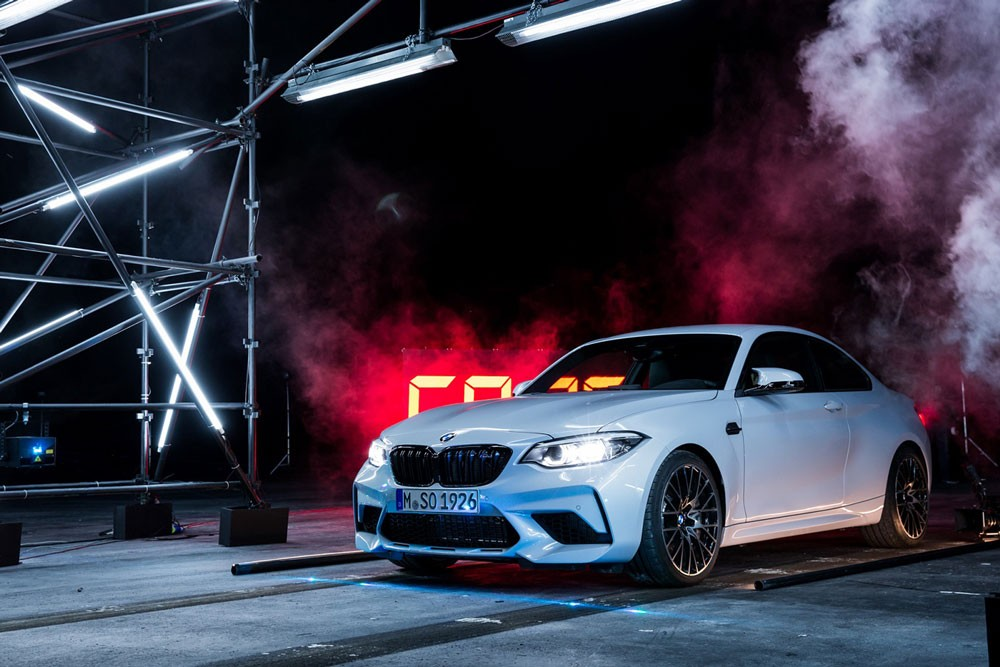 BMW M2 Competition تسعى إلى تحطيم الأرقام القياسية