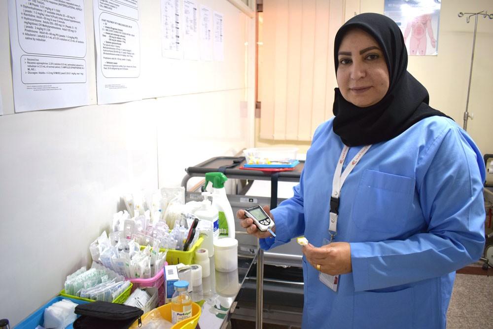 العيادة الطبية ببعثة الحج في مكة المكرمة تستقبل عدد من حالات ارتفاع السكر في الدم