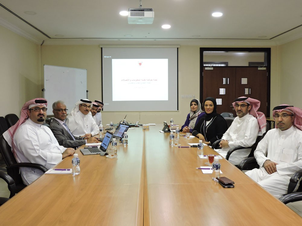 لجنة حوكمة تقنية المعلومات والاتصالات تنفذ مشاريع تقنية بقيمة 3 ملايين دينار