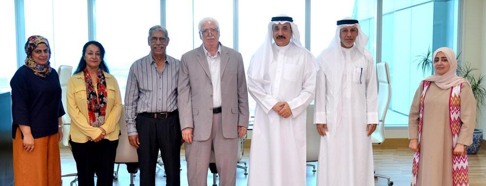 حميدان يلتقي رئيس جمعية البحرين لمقاومة التطبيع مع العدو الصهيوني