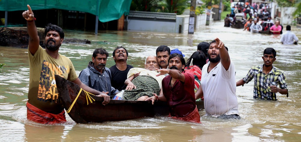 سلامة جميع البحرينيين في كيرلا بعد السيول والفيضانات