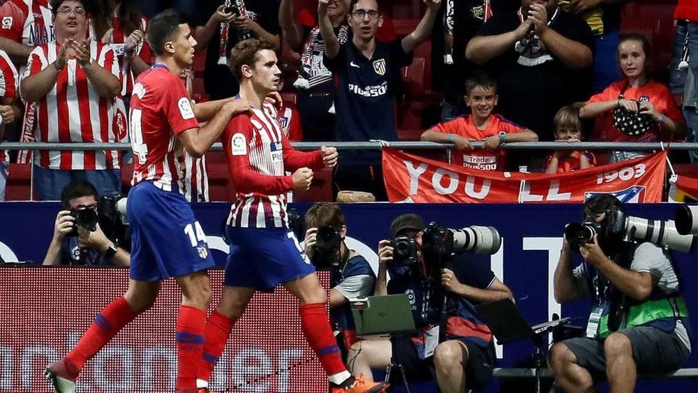 هدف غريزمان.. أتليتكو مدريد يحقق فوزه الأول بصعوبة
