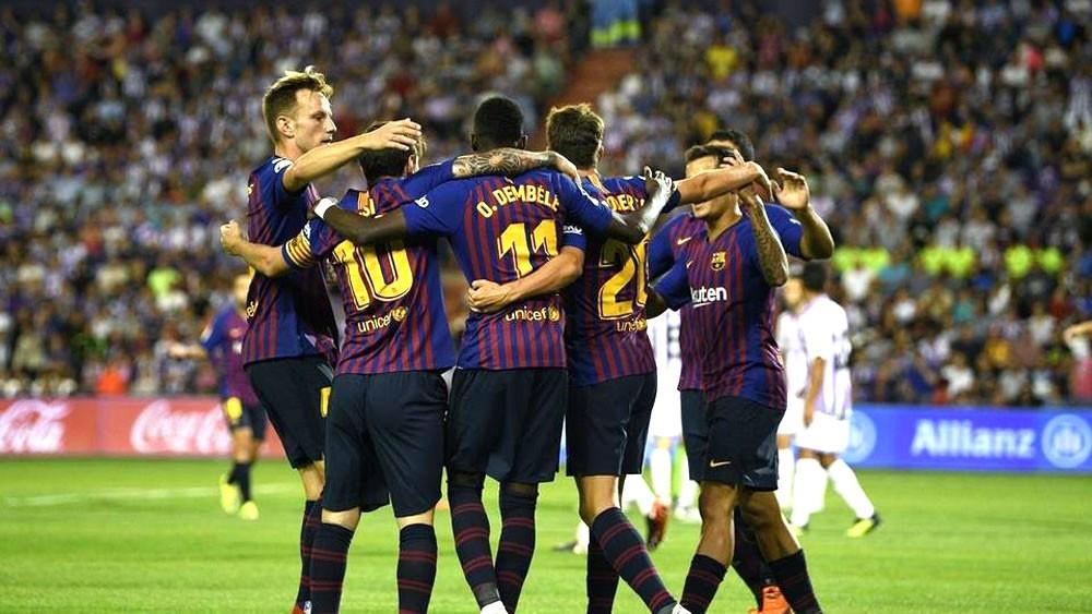 """""""الفيديو"""" ينقذ برشلونة من خسارة نقطتين أمام بلد الوليد"""