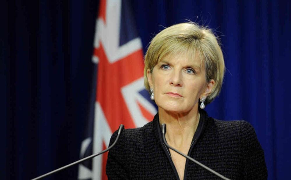 استقالة وزيرة خارجية استراليا