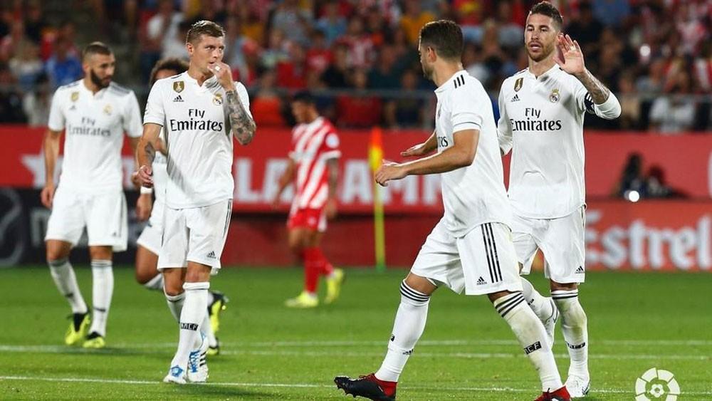 ريال مدريد يحقق انتصاره الثاني ويتغلب على جيرونا