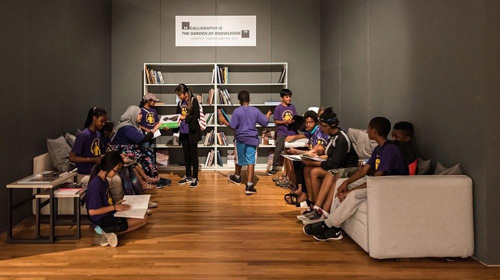 معرض في متحف الآغا خان في كندا لإعادة إحياء مكتبة في العراق
