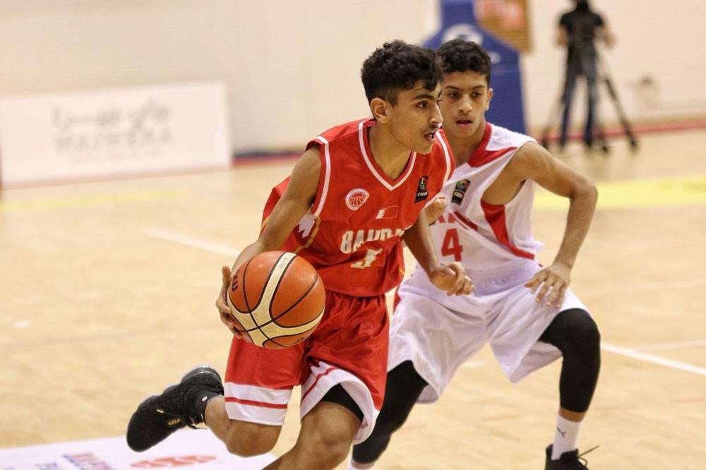 منتخبنا يتخطى عمان في خليجية الناشئين لكرة السلة
