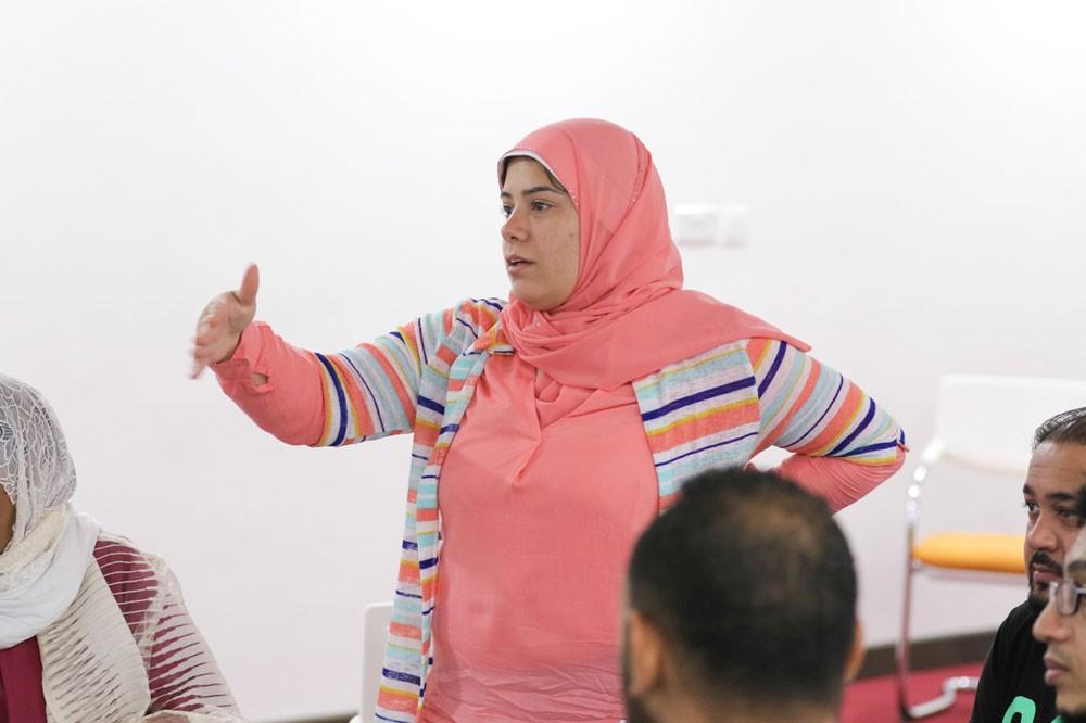 3 مجموعات في دورة أسرار الكاتب المسرحي وتدريبات نظرية وعملية
