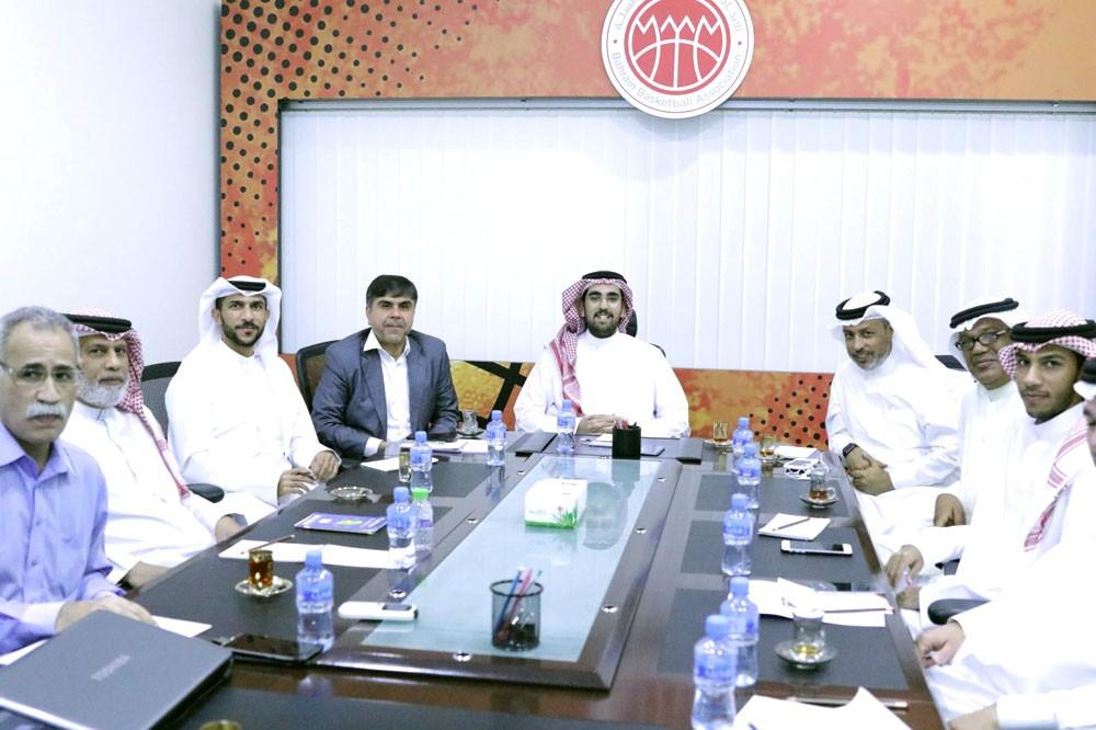 اللجنة المنظمة لتصفيات آسيا لكرة السلة تعقد اجتماعها الثاني