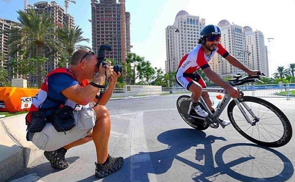 ذياب يبدأ مشواره في سباق الدراجات لمسافة 4 كيلومتر