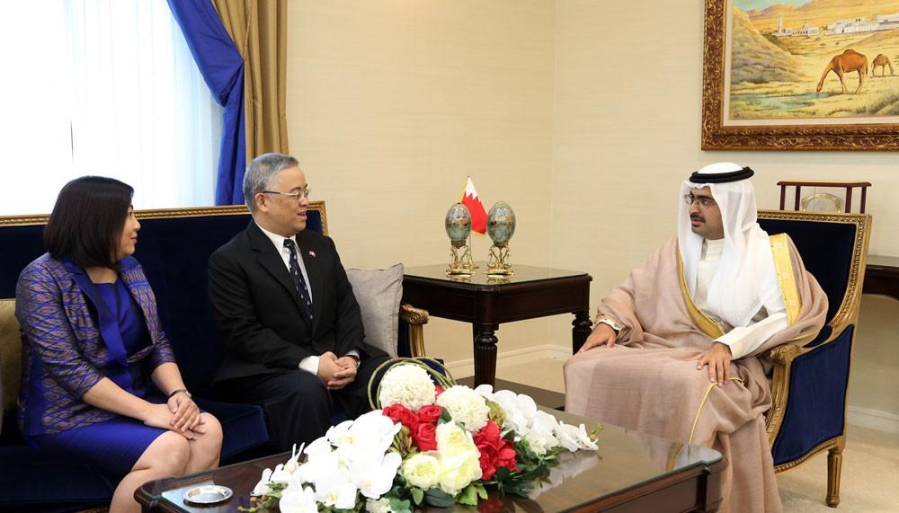 سمو محافظ الجنوبية يؤكد أن البحرين وتايلند نموذج للتعاون والصداقة