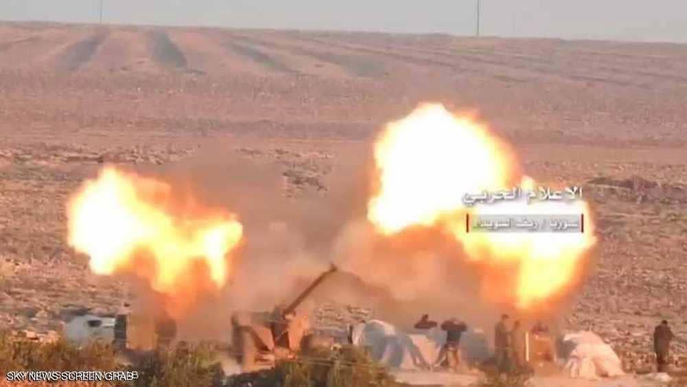 سوريا.. اشتباكات عنيفة بين قوات النظام وداعش بالسويداء