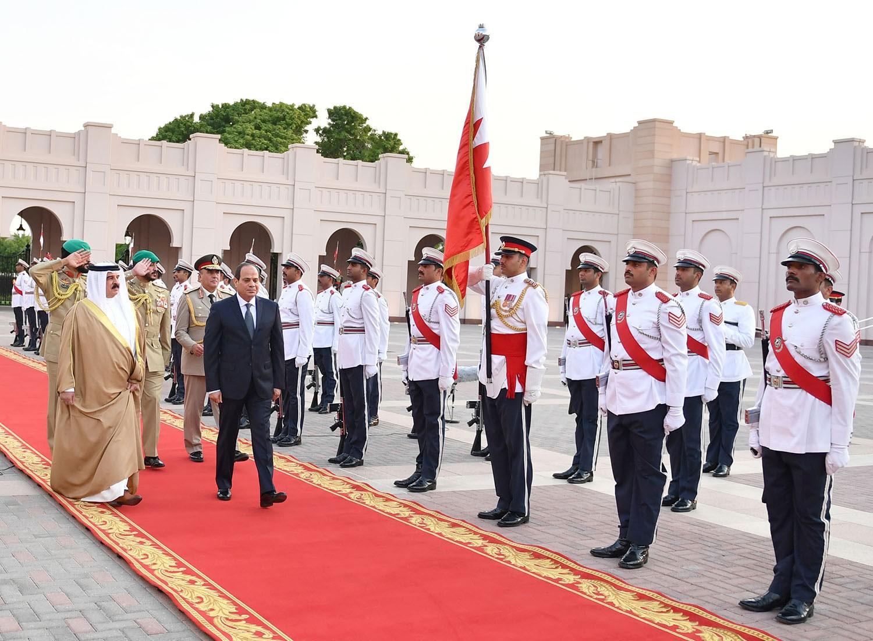 جلالة الملك: تاريخ ريادي لمصر في حماية الأمن القومي العربي