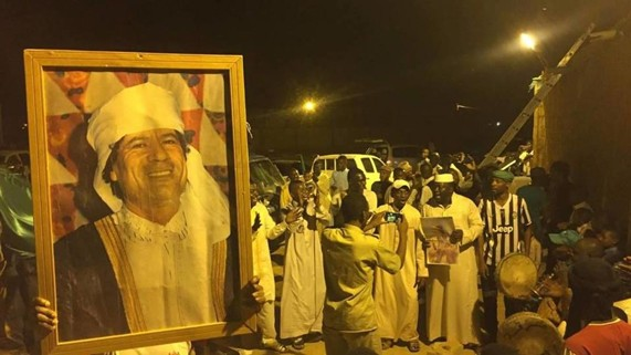 ليبيا: أنصار النظام السابق يحيون ذكرى وفائهم للقذافي
