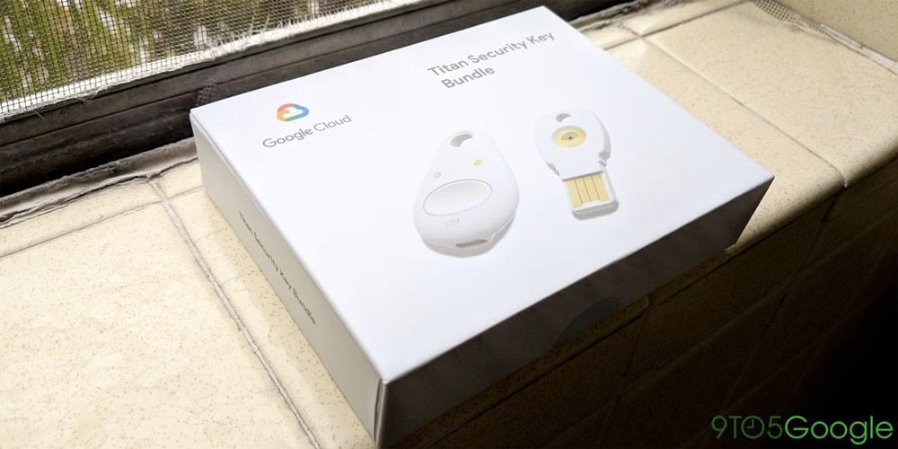مفتاح الآمان Google Titan أصبح متوفرًا  للشراء