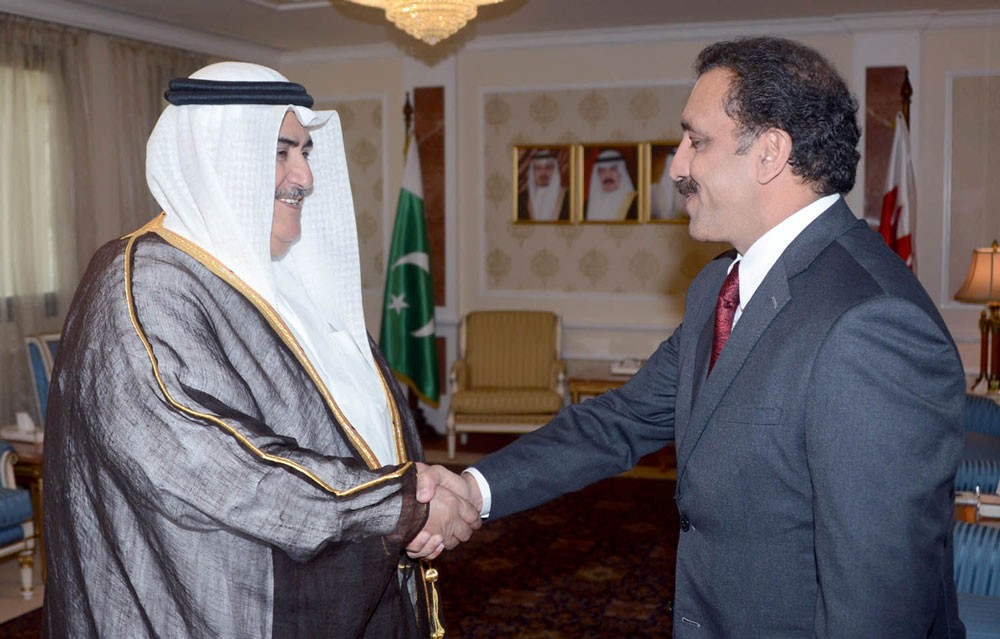 وزير الخارجية يتسلم  أوراق اعتماد السفير  الباكستاني والالماني