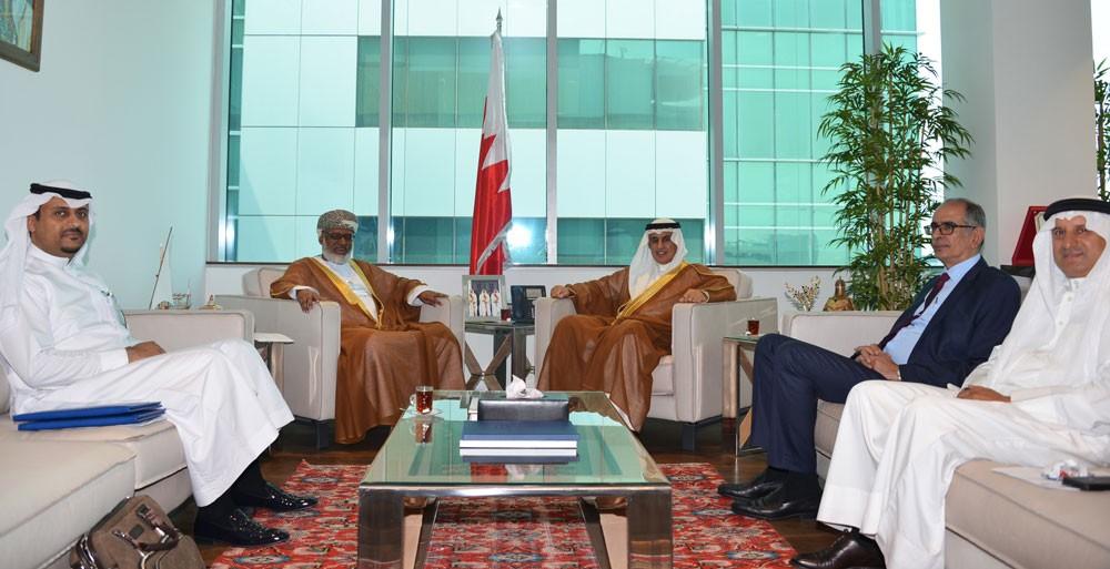 الزياني يجتمع بالأمين العام لهيئة التقييس لدول مجلس التعاون