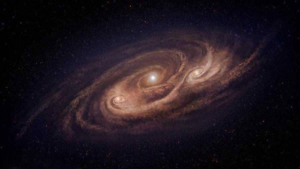 مجرة تبعد عن الأرض 12 مليار سنة ضوئية