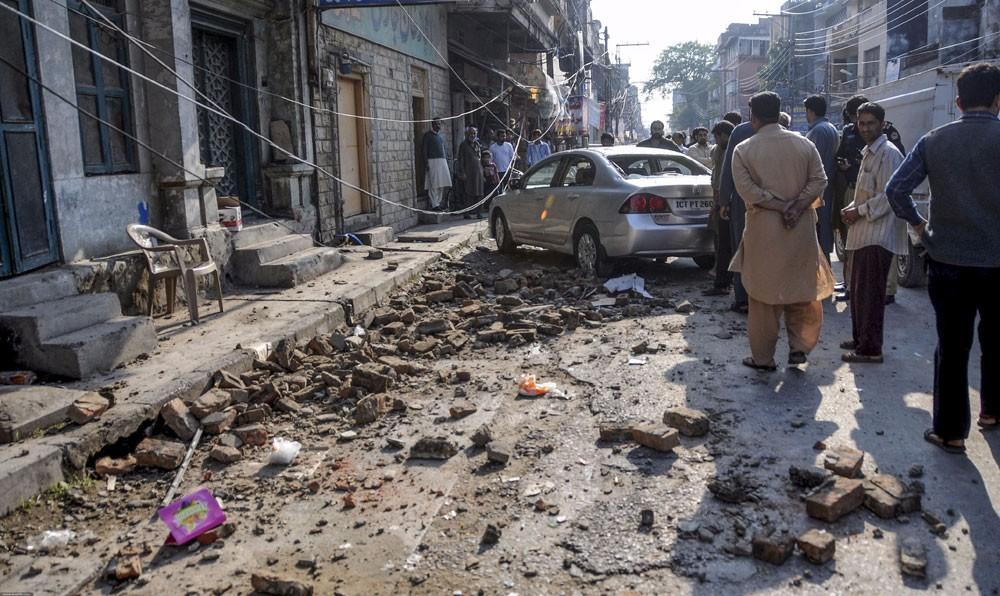 """زلزال بقوة 4.3 درجات يضرب إقليم """"البنجاب"""" الباكستاني"""