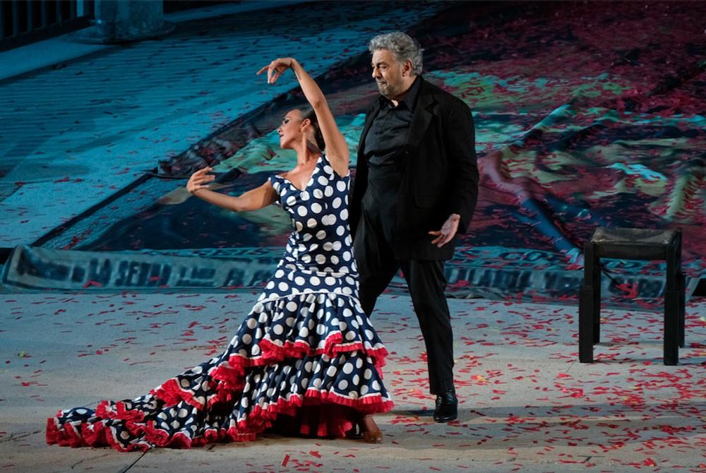 """فن """"الزارزويلا"""" الإسباني مع بلاسيدو دومينغو في افتتاح"""