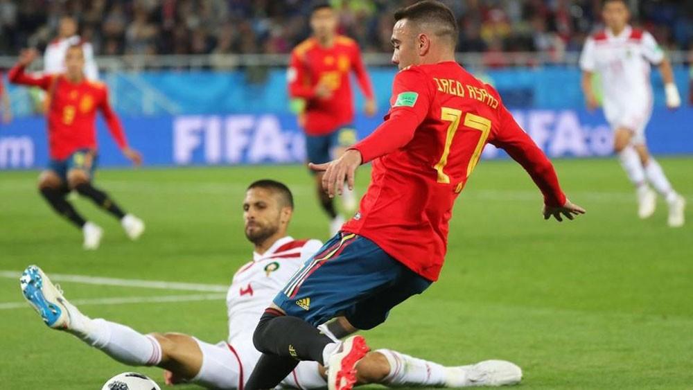 أسباس يعوض غياب دييغو كوستا عن تشكيلة إسبانيا
