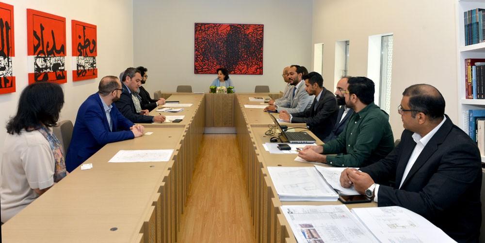اجتماع تنسيقي بين هيئة الثقافة والبنك الإسلامي للتنمية