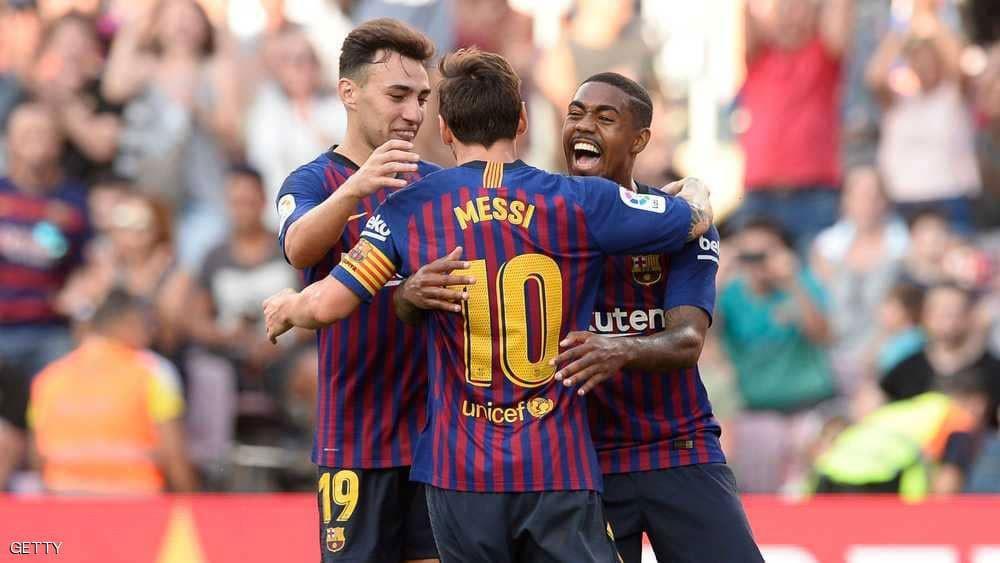 برشلونة يفقد نجمه الجديد سريعا