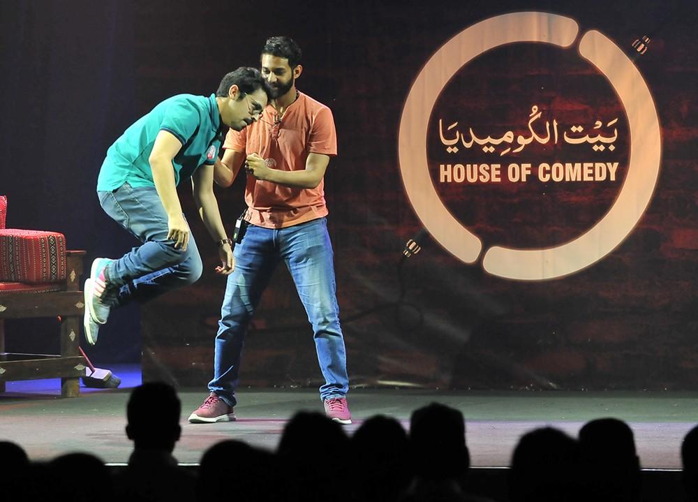 بيت الكوميديا يقدم 43 عرضا في 2018